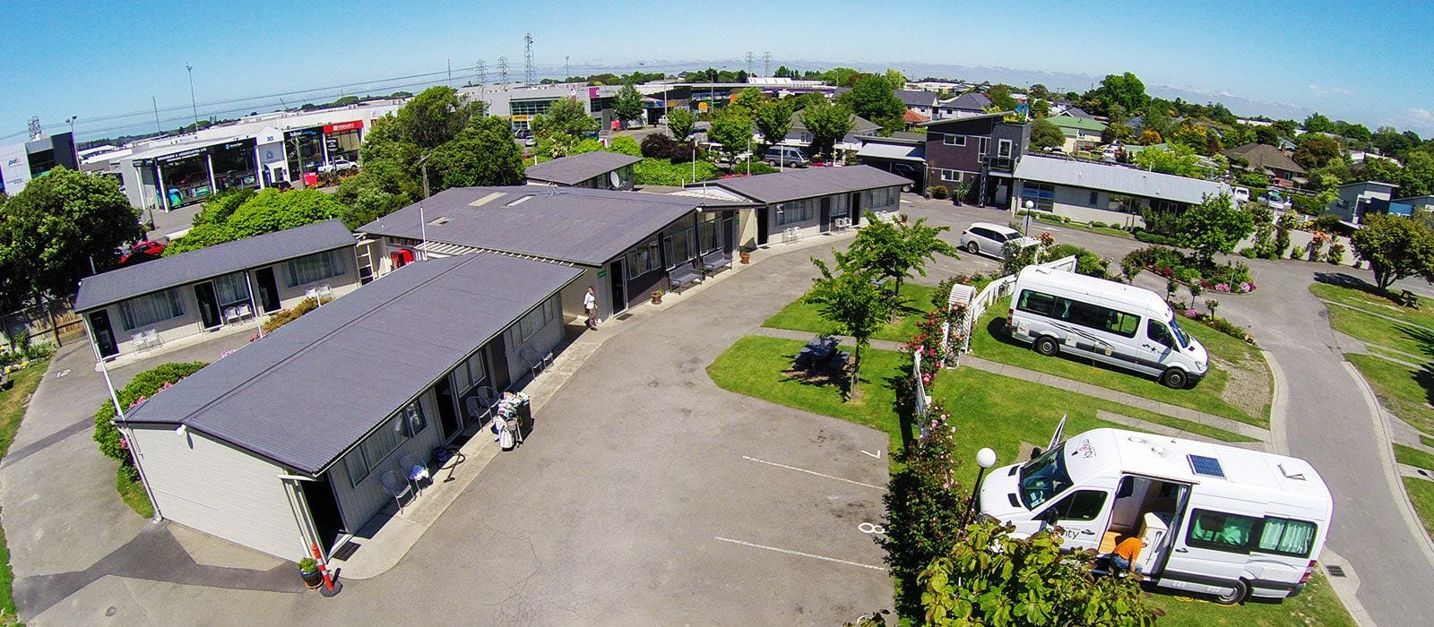 Parking And Motels, Amber Kiwi Holiday Park Christchurch